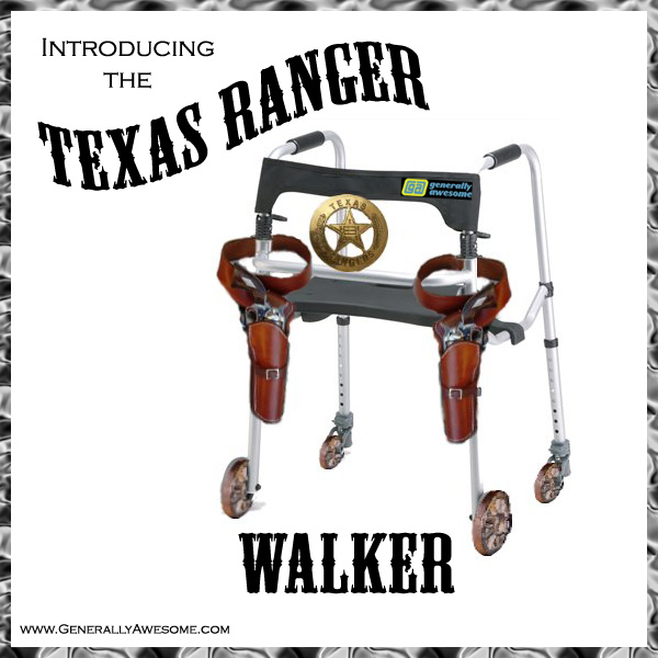 Retired Lone-star state law enforcement should try out the new Texas Ranger Walker.